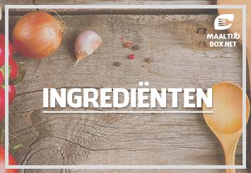 Maaltijdbox ingrediënten