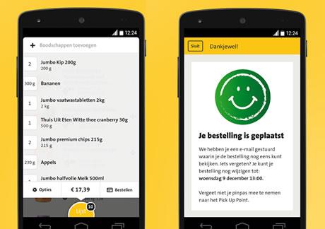 Jumbo App – De Jumbo supermarkt boodschappen app!