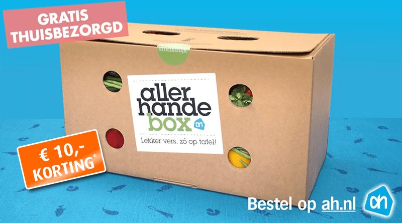 Allerhande box korting: €10 korting op de allerhande box