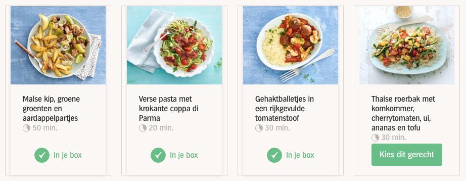 inspiratiebox-albert-heijn-gerechten