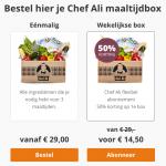 chef ali maaltijdbox bestellen