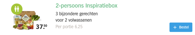 inspiratiebox albert heijn kommetjes