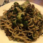 noodles met groente