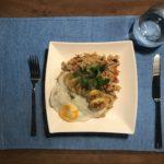 rijst met kruiden en groente