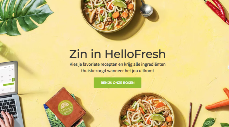alternatieven van hellofresh