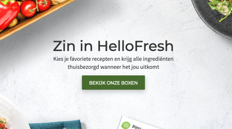 hellofresh in belgie