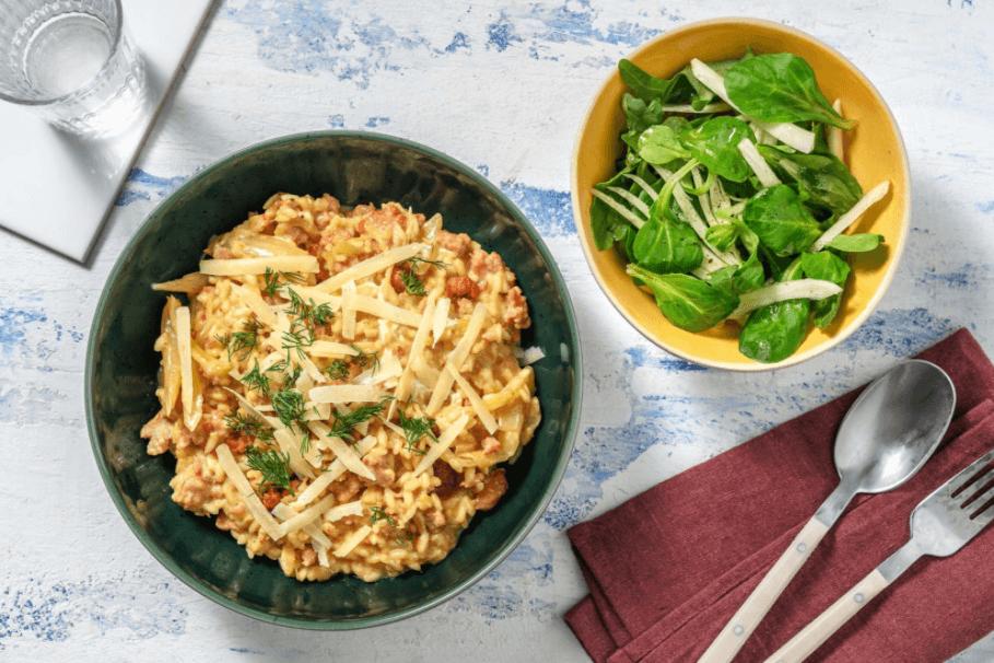 risotto recepten hellofresh maaltijdbox